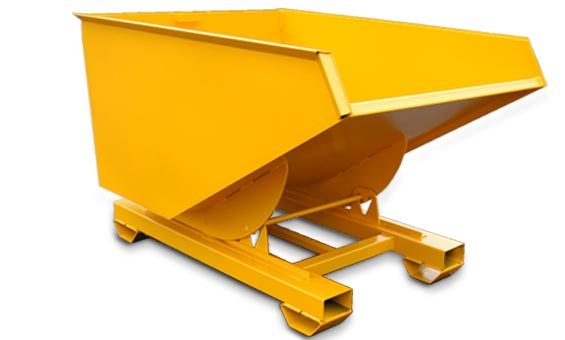 Forklift Self Tipping Skip