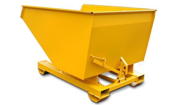 Roll Forward Tipping Skip